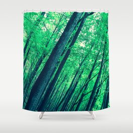 Spring Vertigo Shower Curtain