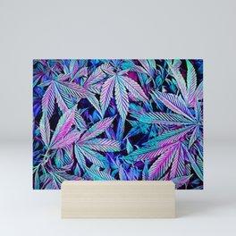 Cannabis Jewels Mini Art Print