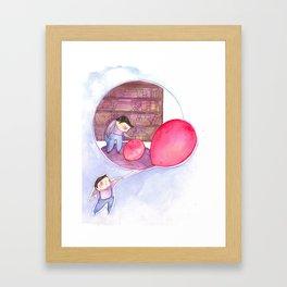 Billy's Balloon 02 Framed Art Print