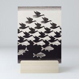 escher - be different Mini Art Print