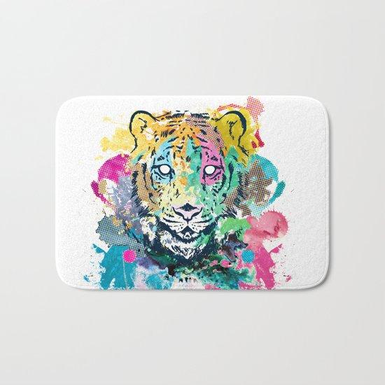 Tiger Splash Bath Mat