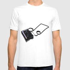 iPod v1.0 Mens Fitted Tee White MEDIUM