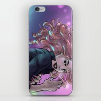 daunt iPhone & iPod Skins featuring The Night Out by Daunt