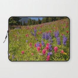 SHRINE RIDGE COLORADO SUMMER MOUNTAIN WILDFLOWERS LANDSCAPE PHOTOGRAPHY Laptop Sleeve