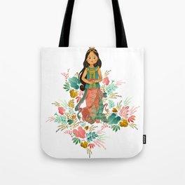 The Sundanese Goddess of Rice and Prosperity Tote Bag
