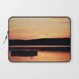 Dock at Dawn Laptop Sleeve
