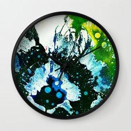 Polychromoptic #2C by Michael Moffa Wall Clock