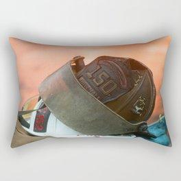 Hard Day At The Office Rectangular Pillow