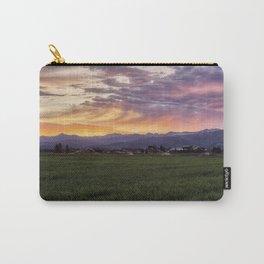 Mountain Sunrise - Teton Valley, Idaho Carry-All Pouch
