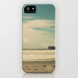 Cayucos Boardwalk iPhone Case