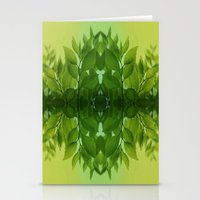leaf Stationery Cards featuring Leaf by Cs025