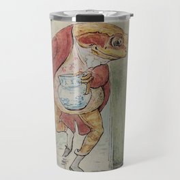 Jeremy Fisher by Beatrix Potter Travel Mug