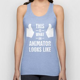 This Is What An Animator Looks Like Unisex Tank Top