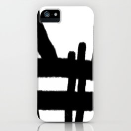 erase the wrong mistake iPhone Case
