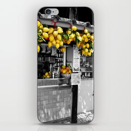 Lemon Juice iPhone Skin