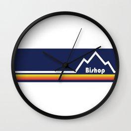 Bishop, California Wall Clock