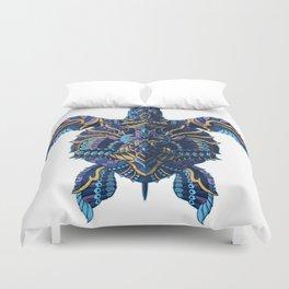 Sea Turtle (Color Version) Duvet Cover