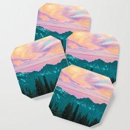 Holographic Sky #digitalart #nature Coaster