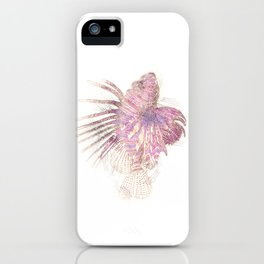 Lets draw a Lionfish iPhone Case