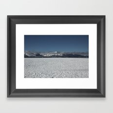 Long Walk Framed Art Print