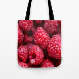 background red berries Tote Bag