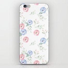 Wildflowers iPhone Skin