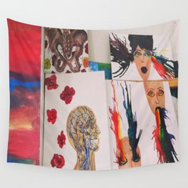 Spew Colors Wall Tapestry