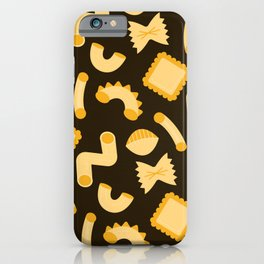 Pasta Shapes iPhone Case