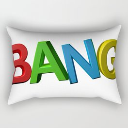 Colorful bang Rectangular Pillow