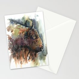 Bison. Stationery Cards