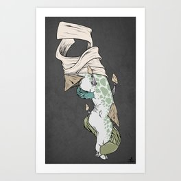 Our gods are made on earth II Art Print