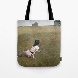 Christina's World - Andrew Wyeth Tote Bag
