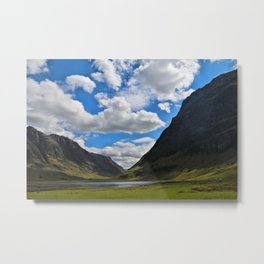 Highland Blue and Green Metal Print