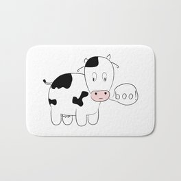 SOLD! Scary Cow - Inspired by a True Incident! Bath Mat