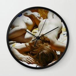 Nude Friends  Wall Clock