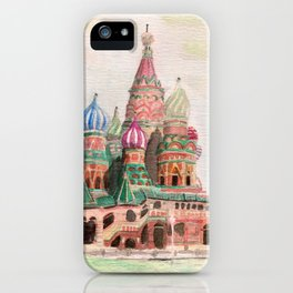 St Basil Cathedral, Moscow iPhone Case