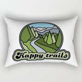 Happy trails Rectangular Pillow