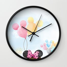Dreams Do Come True Wall Clock