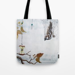Caught in a net - detail Tote Bag