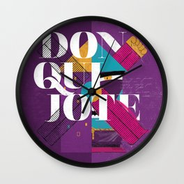 Don Quijote Wall Clock