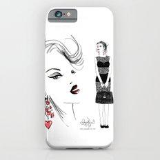 Black Lace iPhone 6s Slim Case