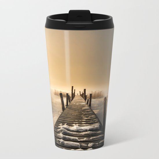 I rest here... Metal Travel Mug