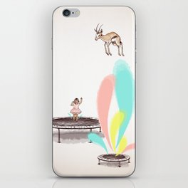 Gazelles Make Bad Friends iPhone Skin