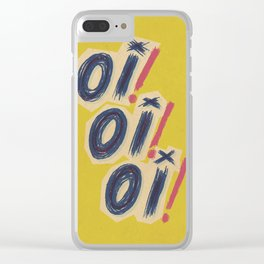 Oi! Oi! Oi! Clear iPhone Case