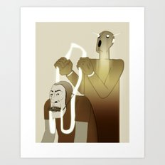 Take Me to Your Leader Art Print