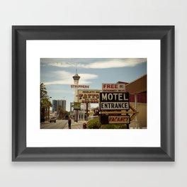 Strip on the Strip - Las Vegas Framed Art Print