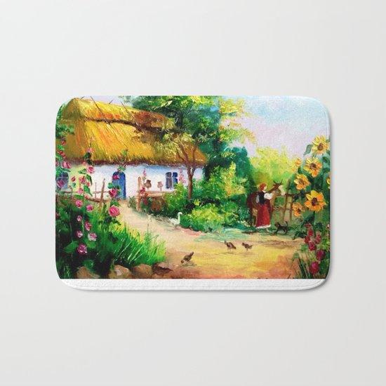 Village house Bath Mat
