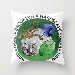 Brooklyn Hardscape Throw Pillow