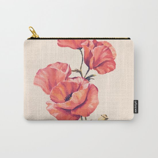 Flowers 10 Carry-All Pouch