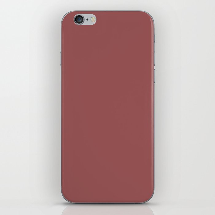 Marsala iPhone Skin